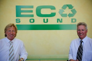Eco Sound Founders Mark Hineser and Don Huhn