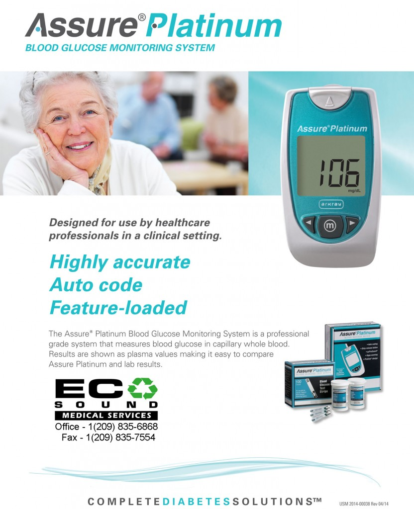 Assure Platinum blood sugar Monitor